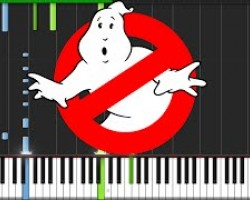 Ghostbusters Theme (2016) [Piano Tutorial] (Synthesia) // The Wild Conductor