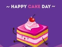 Happy Cake Day Person